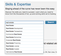 the linkedin marketing guideskills expertise instant search results