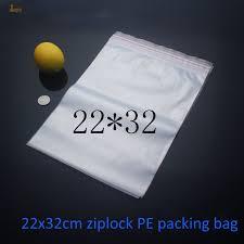 <b>22x32cm</b> Clothes Pacakging Zipper Lock Recycle <b>Plastic</b> Bags, Pe ...