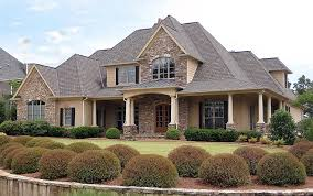 House Plan at FamilyHomePlans comEuropean Southern Traditional House Plan Elevation