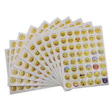 10 <b>Sheets 48</b> Stickers Hot Popular Sticker <b>48</b> Different Emoji Smile ...