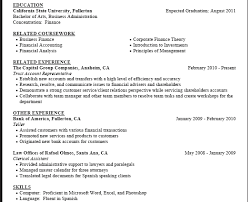Resume entry level objective sample Carpinteria Rural Friedrich including high school in resume