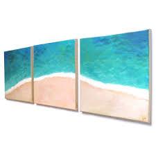 minimalist beach theme decor home and office art tropical shoreline from njoyart on etsy beach office decor