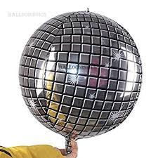 Silver Aluminum Foil <b>Balloon</b> Mirror Metallic <b>Disco</b> Ball Accessories ...