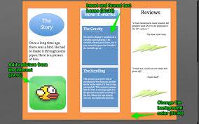 microsoft word tutorial make a brochure brochure2