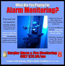 advertising and other designs by crystal desilet at coroflot com alarm monitoring advertisement neighborhood flyer and advertisement for alarm monitoriing