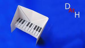 Как ЛЕГКО сделать пианино из бумаги (Оригами пианино ...