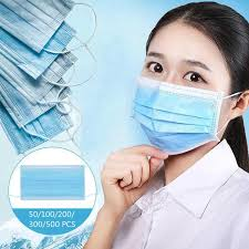 50-500 Pcs Disposable 3-Ply <b>Non</b> Woven Disposable Profession ...