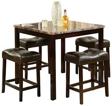 Marble Top Kitchen Table Set Small Wooden Dining Table And Chairs Dining Breakfast Nook