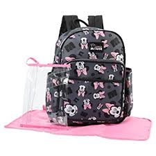 Disney Minnie Mouse Toss Head Print Backpack ... - Amazon.com