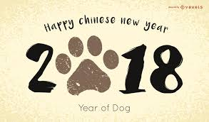 2018 Chinese New Year - Vector download