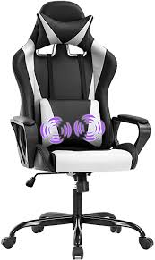 Gaming Chair Massage Office Chair Racing Chair ... - Amazon.com