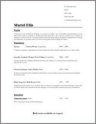 Good CV Example   CV Template   On Target Recruitment Professional CV Template Free