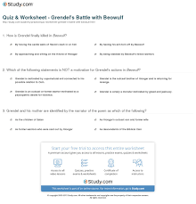 beowulf essay questions print grendel s battle beowulf character amp summary worksheet