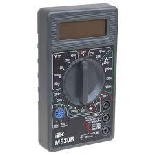 <b>Мультиметр IEK Universal</b> M830B от 346 р., купить со скидкой на ...