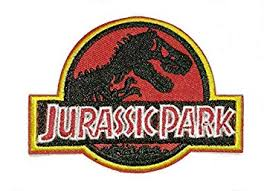 <b>Jurassic Park</b> Embroidered Cloth Iron On <b>Patches</b>: Amazon.co.uk ...