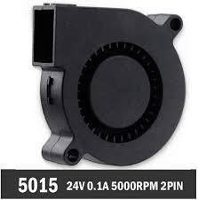 Case Fans <b>1 Piece Gdstime</b> 5015 Blower Fan <b>DC</b> 24V 2 Pin ...