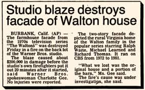 The Waltons   LocationsIt was rebuilt in and used for the Walton Reunion Special
