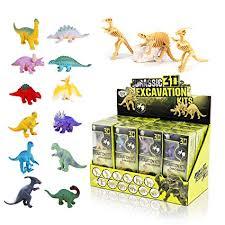 Liberty Imports <b>12</b> Pack <b>Dinosaurs</b> Assortment Skeleton <b>3D Dino</b> ...