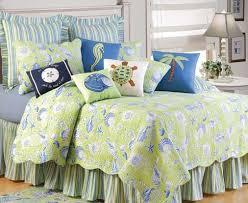 coastal decor bedding green shells bedding green seashells green shells bedding