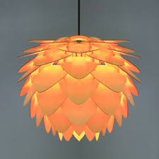 Modern Art <b>Creative Wood</b> Pine Cone Chandelier <b>Pendant Light</b> ...