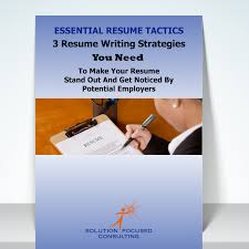 guide solution focused consulting resume writing guide >