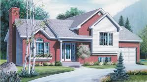 Split Level Ranch House Plans   BuilderHousePlans comSplit Level Ranch House   Plan HWBDO