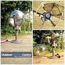 a beautiful wrought iron outdoor globe light it is big and just beautiful beautiful lighting uk
