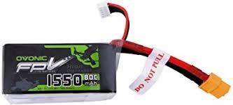 Ovonic 14.8V 1550mAh 4S 80C LiPo Battery Pack ... - Amazon.com