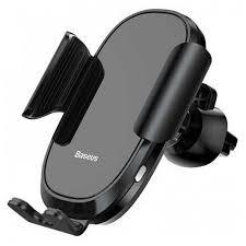 <b>Держатель</b> в дефлектор <b>Baseus Smart</b> Car Mount Cell - Черный ...