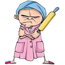 Bildresultat för cranky old lady