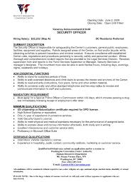 correctional officer cover letter certificate no criminal record gallery photos of correctional officer resume examples