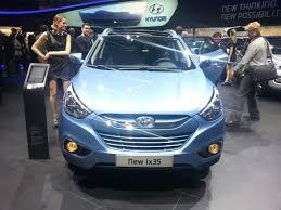 2013 hyundai ix35 rear profile 2013 hyundai ix35 front fascia