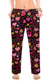 """Женские пижамные штаны """"<b>ЛЮБОВЬ LOVE</b>"""" #2616827 от robus ..."""