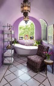arched ceiling purple morroccan decorated bathroom spa diamond tiles floors better decorating bible blog ideas how blog spa bathroom