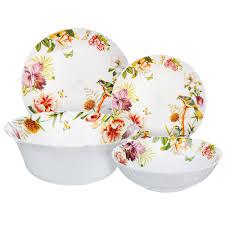 MILLIMI Рио <b>Набор столовой посуды</b> 19 пр., опаловое стекло ...