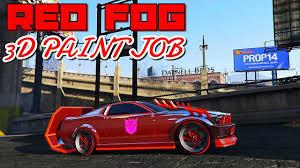 GTA <b>5</b> ONLINE - <b>3D</b> MODDED PAINT JOB TUTORIAL - YouTube