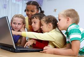 Image result for computer Playing kids