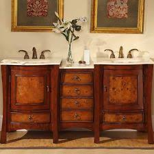 double bowl bathroom sink silkroad exclusive double sink bowl bathroom vanity dual bath cabinet