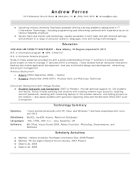 entry level it resume   entry level resume objectives
