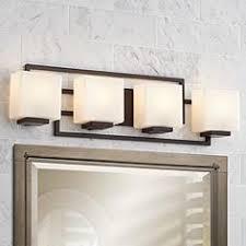 lighting on the square bronze 28 12 wide bath wall light bathroom lighting contemporary
