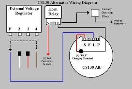 chevy one wire alternator diagram wiring diagram and schematic ford alternator wiring diagram internal regulator circuit