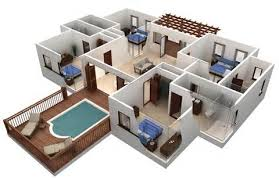 d Floor Plans For Houses   D House Floor Plans   Design     d Floor Plans For Houses   D Floor Plan Design