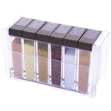 <b>Набор</b> из 6 банок для специй, коробка для приправ, <b>контейнер</b> ...