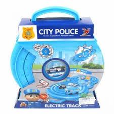Автотрек <b>электрифицированный Наша Игрушка</b> Полиция HY347-2