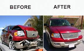 Image result for before and after collision repair photos