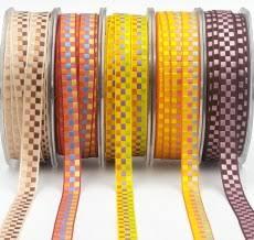 <b>Check</b> & <b>Plaid Ribbons</b> - <b>Gingham</b> & Checker <b>Ribbon</b> - May Arts