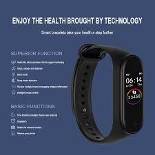 <b>Lanyasir</b> M4 Smart Band Fitness Tracker Smart Bracelet Waterproof ...