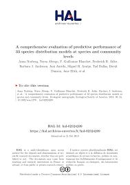 (PDF) A comprehensive evaluation of predictive performance of 33 ...