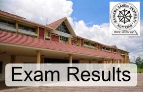 MG University Results 2017, B.Sc Nursing Supply result
