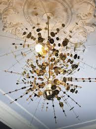 golden confetti light fixture artistic lighting fixtures